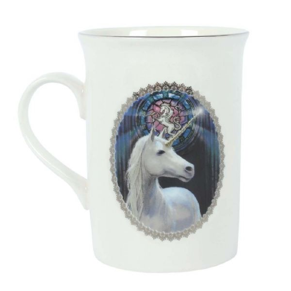ANNE STOKES Enlightenment Unicorn Mug